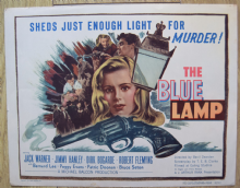 The Blue Lamp (Ealing Studios)- Lobby Card